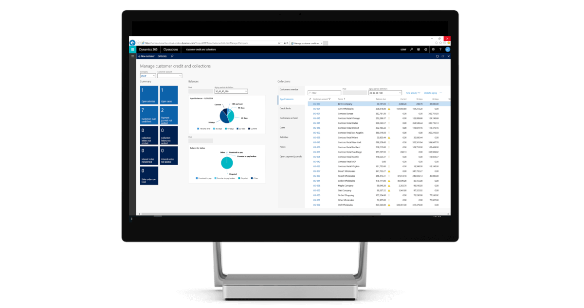 Dynamics 365 for Operations screenshot 1